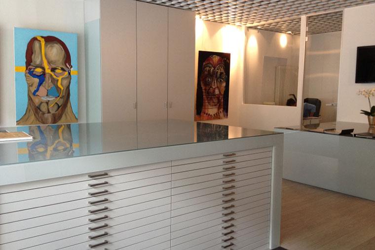 Showroom von Parkett- & Bodenzentrum Tomicic in München